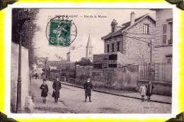CP N°11    Montmagny  -  Rue De La Mairie  --  95  Val D´Oise  -- - Enghien Les Bains