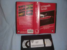 K7 Vhs La Légende Ferrari - Cassettes Vidéo VHS