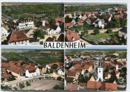 CPSM 67 BALDENHEIM ECOLE ET MAIRIE VUE GÉNÉRALE 1964  Grand Format - Autres Communes