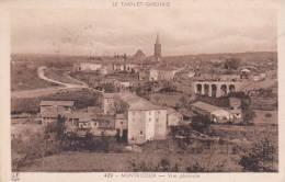 21523 Montricoux ; 2 Cpa -vue Generale 429 Et 168 LF Toulouse -