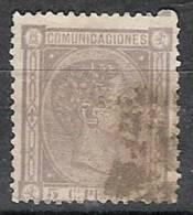 España U 0163 (o) Alfonso XII. 1875. - Gebraucht