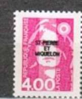 SAINT PIERRE ET MIQUELON NEUF ** N° 556 Marianne Du Bicentenaire - St.Pierre & Miquelon