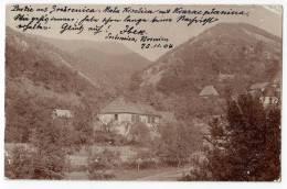 EUROPE BOSNIA SREBRENICA MALA KISELICA AND KVARAC MOUNTAIN OLD POSTCARD 1904. - Bosnia And Herzegovina
