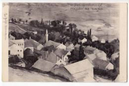 EUROPE BOSNIA GACKO VIEW TO GACKO OLD POSTCARD 1927. - Bosnia And Herzegovina