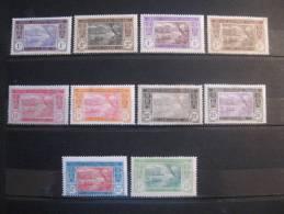 Cote D Ivoire 1913 /22 Mint Lot 10 Stamps  Ivory Coast - Unclassified