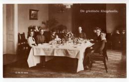 ROYAL FAMILIES THE GREEK ROYAL FAMILY G.M.K. Nr. 3623 OLD POSTCARD - Royal Families