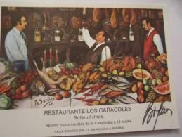 RESTAURANTE LOS CARACOLES BOFARULL HNOS.BARCELONA