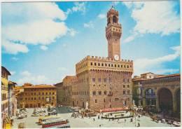Cpsm  Italie      Toscana Firenze Place De La Signoria - Firenze