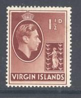 VIRGIN ISLANDS, 1938 1½D (chalky Paper) Mounted Mint - Britse Maagdeneilanden