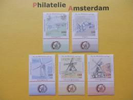 Germany 1997, MILLS MÜHLE MOLENS MOULINS: Mi 1948-52, ** - Windmills
