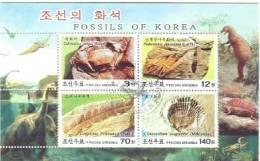 North Korea CTO Sheetlet - Fossili