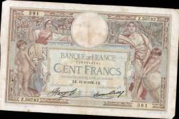BEAU BILLET DE CENT FRCS MERSON DATE DU 12.03.1936 - 100 F 1908-1939 ''Luc Olivier Merson''