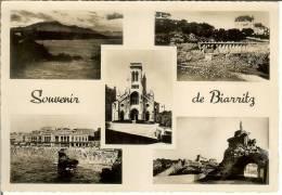 Francia--BIARRITZ--Carta Photo--Casino--C.A.P. Nº 163 - Casinos