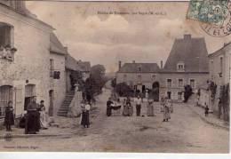 Nyoiseau..très Animée..la Mairie..Top Carte..superbe Visuel - Other Municipalities