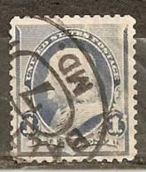 Etats-Unis USA 1894 Franklin Obl - 1847-99 Emissioni Generali