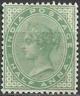 INDIA ..1882.. Michel # 31...MLH. - India (...-1947)