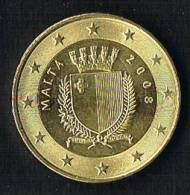 Malta 2008 Moneta  €. 0,50 Del 2008 Circolata - Malta