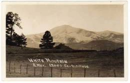 Etats-Unis, Usa, White Mountain, N. Mex. 12003 Ex.Altitude - Autres