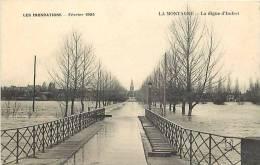 Loire Atlantique -ref A531- Inondations Fevrier 1904- La Montagne - La Digue D Indret -carte Bon Etat  - - La Montagne