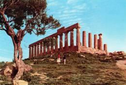 """Bellissima   Cartolina    Anni 80      """" AGRIGENTO - Tempio Di Giunone   """" - Agrigento"""