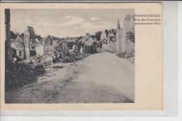 F 02290 NOUVRON, 1.Weltkrieg Zerstörungen - Vic Sur Aisne