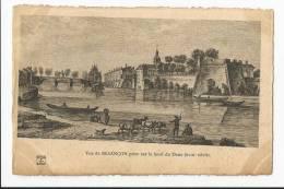 Rare CPA Historique DOUBS 25 : Vue De Besançon Prise Sur Le Bord Du Doux ( XVIIIeme Siècle ) - Besancon