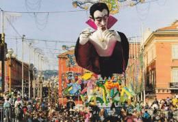 CPSM CARNAVAL DE NICE ROI DU CINEMA DRACULA - Carnival