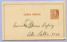 Post Card Argentina Buenos Aires 1890 (593) - Argentinien