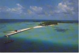MALDIVES ( Malidiven ) - Furana Tourist Resort, Air View, Nice Stamp With Teddy-Bear And Child - Maldives