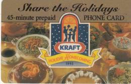 USA - Kraft, Sprint Promotion Prepaid Card, Exp.date 31/10/96, Used