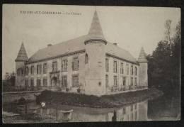 CPA VILLERS AUX CORNEILLES Le Château Franchise Militaire 34e Territorial 1914 - Autres Communes
