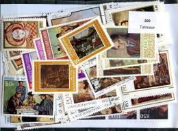 200 Timbres Tableaux - Künste