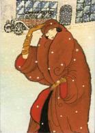 Barbara SCHUMACHER - Motiv Nach Vogue - Femme - Auto - Dans Paysage De Neige   (50416) - Illustrateurs & Photographes