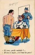 TERJEAN - Humour Militaire - Mal Du Pays   (50417) - Illustrators & Photographers