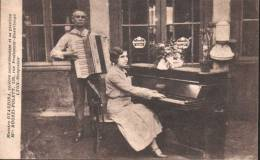 Maestro GUAZZORA Accordéoniste Melle RUOZZI-POLETT Lyon Monplaisir Rue Professeur Beauvisage - Lyon