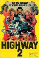 NFK 332 Auf Dem Highway Ist Wieder Die Hölle Los 1984 Cannonball Run II Burt Reynolds Film Kono Movie Programme Program - Zeitschriften