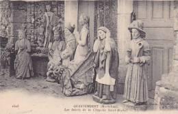 21532 Questembert, Les Saints De La Chapelle Saint Michel -1503 David Statue Forgeron