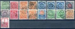Mexiko 1899 - 1924  Lot  Mi.-Nr. 226-29,228,236,240,...o/used - Mexique