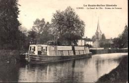 Corre Le Canal De L'Est Bateau De Faience La Haute-Saone Illustrée - France