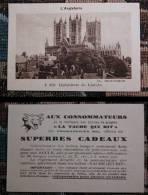 "Image De "" La Vache Qui Rit "" Cathédrale De Lincoln - Angleterre (062_L9 - Old Paper"