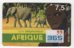 Carte Téléphonique AFRIQUE 365 - 7,5 € - Frankrijk