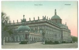 Germany, Neues Palais, Potsdam, Early 1900s Unused Postcard [13227] - Potsdam