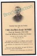 Veauche, Saint-Etienne,mémento Abbé Jean-Marie-Joseph Dansert, St-Pierre Et St-Paul De La Rivière 13/10/1949 - Imágenes Religiosas