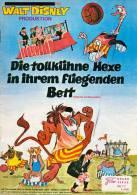 NFK 77 Die Tollkühne Hexe In Ihrem Fliegenden Bett Bedknobs And Broomsticks Kino Movie Film Programme Programm - Zeitschriften
