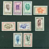 Cote D'ivoire  Yvert Série 181/189 **  - Az3601 - Ivory Coast (1960-...)