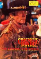 NFK 372 Crocodile Dundee 1987 Paul Hogan Linda Kozlowski Australien AUSTRALIA Film Movie Kino Cinema Programm Programme - Zeitschriften