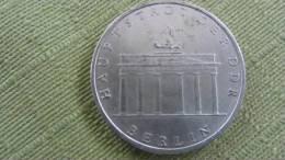 """DDR Sondermünze  """"Berlin - Hauptstadt Der DDR""""  5 Mark  1971 - [ 6] 1949-1990: DDR"""