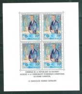 DAHOMEY   Bloc Feuillet Yvert N°8**  Mort Konrad Adenauer  )  Car7307 - Benin - Dahomey (1960-...)