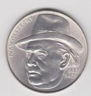CZECHOSLOVAKIA. 100 KORUN 1982 .Centennial Birth Of Ivan Olbracht. ARGENT.   76000 Exemplaires - Czechoslovakia