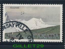 CANADA, STAMPS - HIGH-VALUE NATIONAL PARK DEFINITIVES - KLUANE NATIONAL PARK - SCOTT No 727 - USED - - 1952-.... Reign Of Elizabeth II